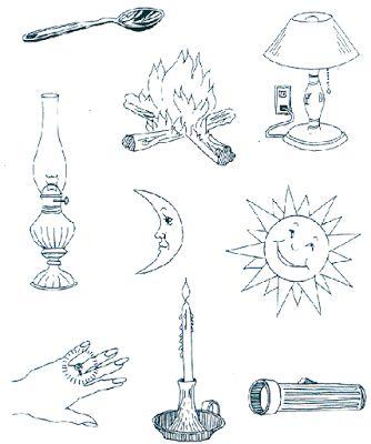 """Činnost, výchovná a vzdělávací materiál pro mateřské školy: Velikonoce skrze pět smyslů: referenční tabulky a """"vypnuto"""" listy"""