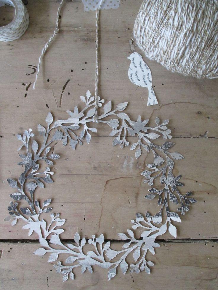 1000 id es sur le th me d co de no l antique sur pinterest coton fil d corations de no l et - Decoration de noel pinterest ...