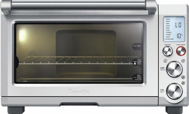 Breville The Smart Oven Pro Convection Toaster Pizza Oven Silver
