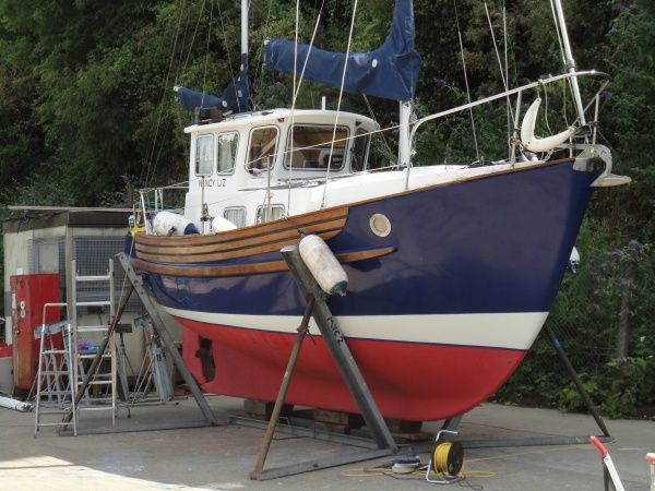 fisher 25 | Fisher 25 Ketch | Liveaboard boats, Yacht boat ...