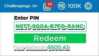 THIS FREE ROBUX PROMO CODE GIVES 1 MILLION ROBUX (ROBLOX ...
