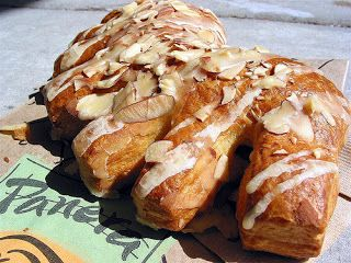 Panera Bread Restaurant Copycat Recipes: Bear Claws. Website has links to copycat recipes for tons of restaurants!