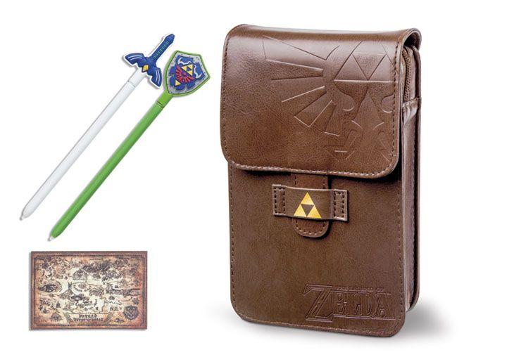 Nintendo 3DS XL The Legend of Zelda Adventurers Pouch Kit for Nintendo 3DS | GameStop