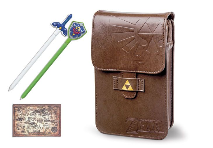 Nintendo 3DS XL The Legend of Zelda Adventurers Pouch Kit for Nintendo 3DS   GameStop