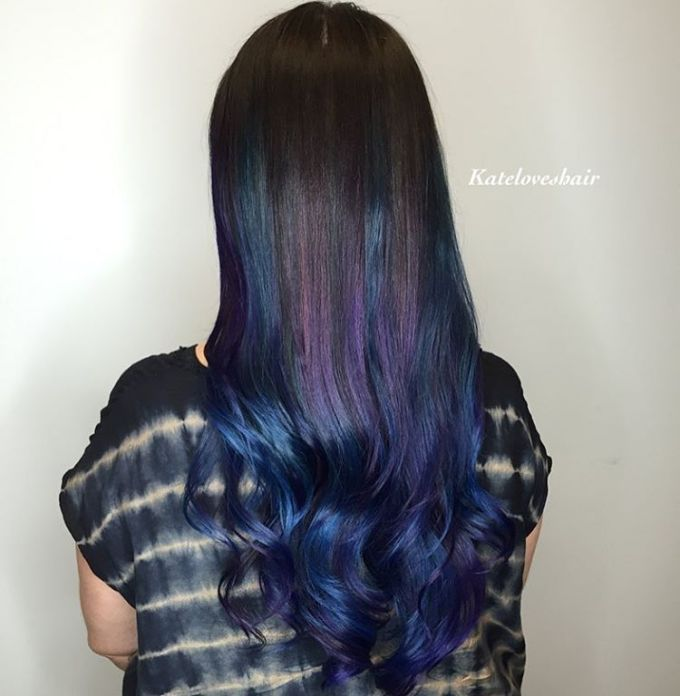 25 best ideas about blue brown hair on pinterest ash