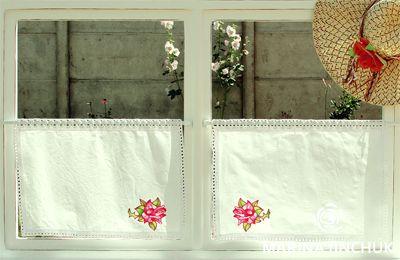Cafe Curtain Шторки «кафе» или «бистро», «бабушкино окошко», crochet-curtains