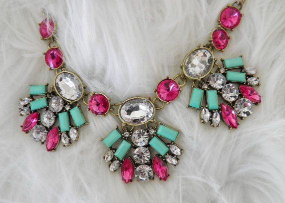 Very Dramatic Bold Statement Necklace by veryfrenchbydesign, $165.00