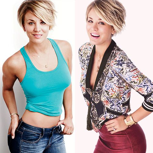 Shop the September 2014 Cover - Photo by: Jeff Lipsky http://www.womenshealthmag.com/style/kaley-cuoco-sweeting-cover-look