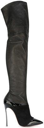 Casadei 'Blade' thigh length boots
