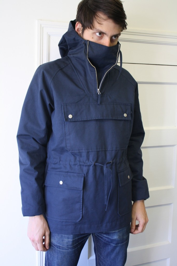 norse projects kaare jacket - great utility, probably wouldn't want to walk around like that when it wasn't subzero though.
