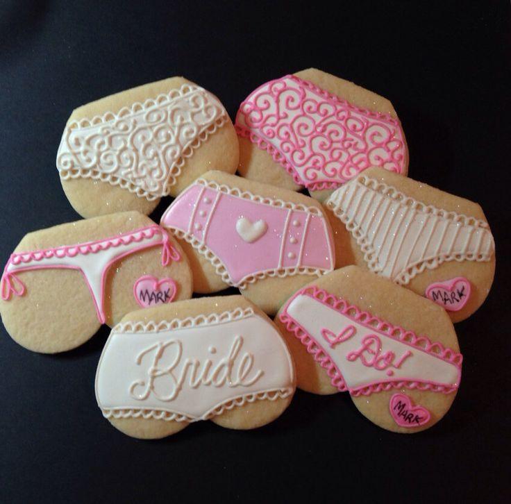 Lingerie Cookies-1 Dozen by kjcookies on Etsy https://www.etsy.com/listing/200880133/lingerie-cookies-1-dozen
