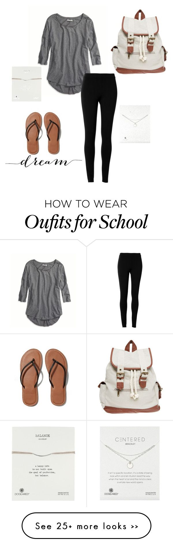 """Casual Back To School"" by matilda131 on Polyvore featuring American Eagle Outfitters, Max Studio, Abercrombie & Fitch, Wet Seal and Dogeared"