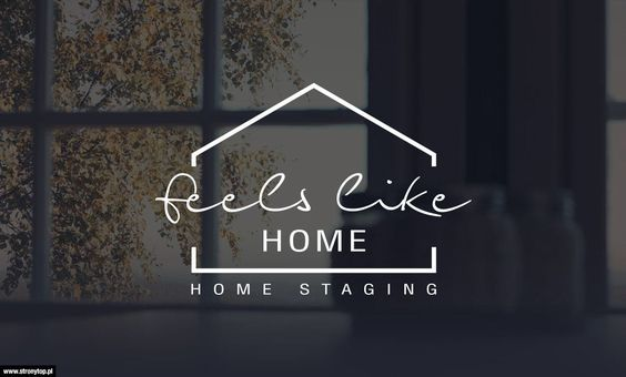 Projekt logo Home Staging - FeelsLikeHome.pl | PROJEKTY ...