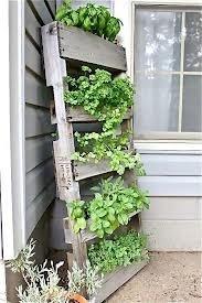 Nog een idee voor verticale moestuin