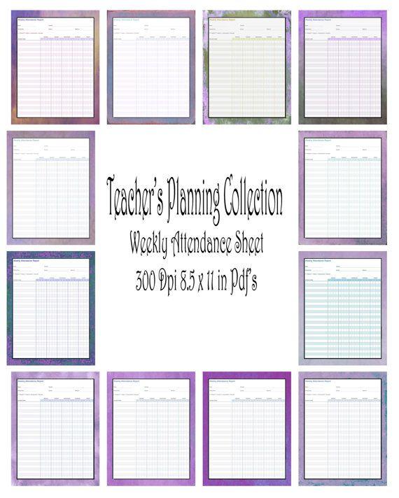 9 best Open house jr\/sr high images on Pinterest Classroom ideas - download attendance sheet