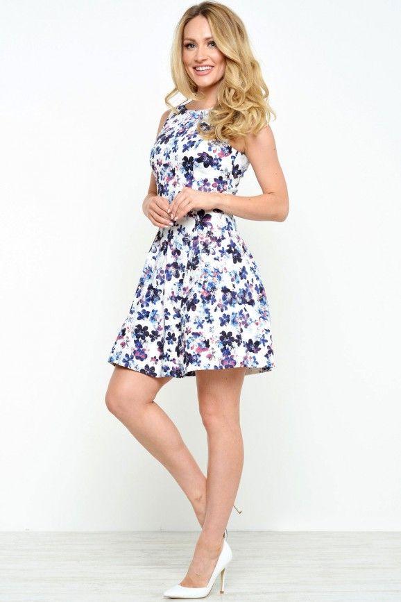 Stella Floral Skater Dress