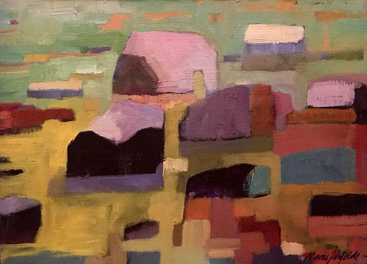 Rocks by Marie Åhfeldt, Mås Illustra. Oil on canvas. www.masillustra.se #painting #rocks #masillustra