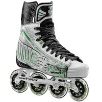 Tour Fish Bonelite Pro Senior Inline Hockey Skates White:: The New Fish BoneLite Series is the Ultimate Pro Level Series. It features our new Surlon Structural Support Unit, which allowed us to reduce the weight, without sacrificing the structural support. Keeping this in mind, we not only reduced the weight, we improved the Fit and Comfort.