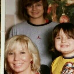 Us 3 at Christmas few years ago.in need for current ones.