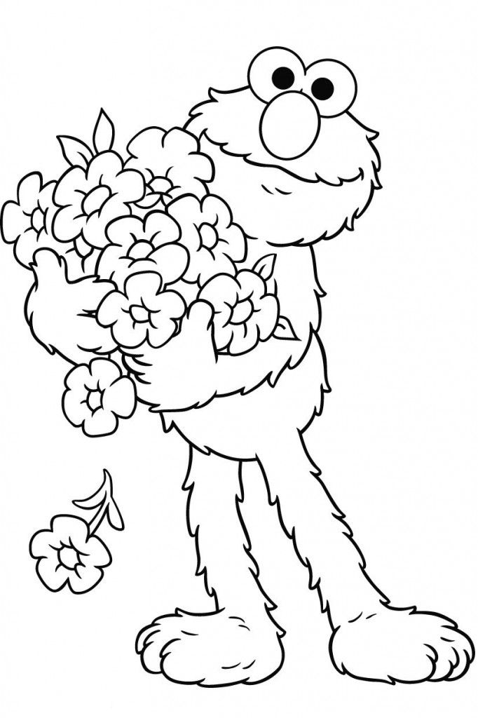 elmo carry interest coloring pages for kids printable elmo coloring pages for kids
