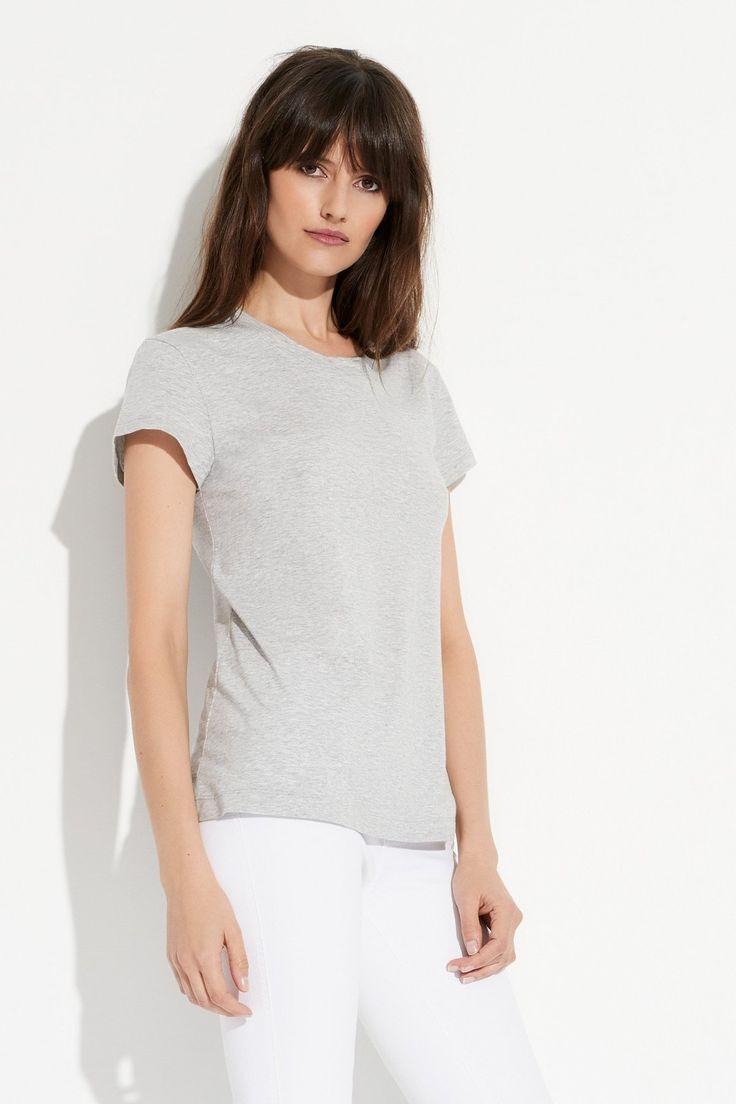 shop ethical clothing Australia | sustainable - ethi -Everyday Tee - Grey