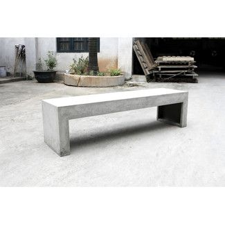1000 Ideas About Concrete Bench On Pinterest Benches