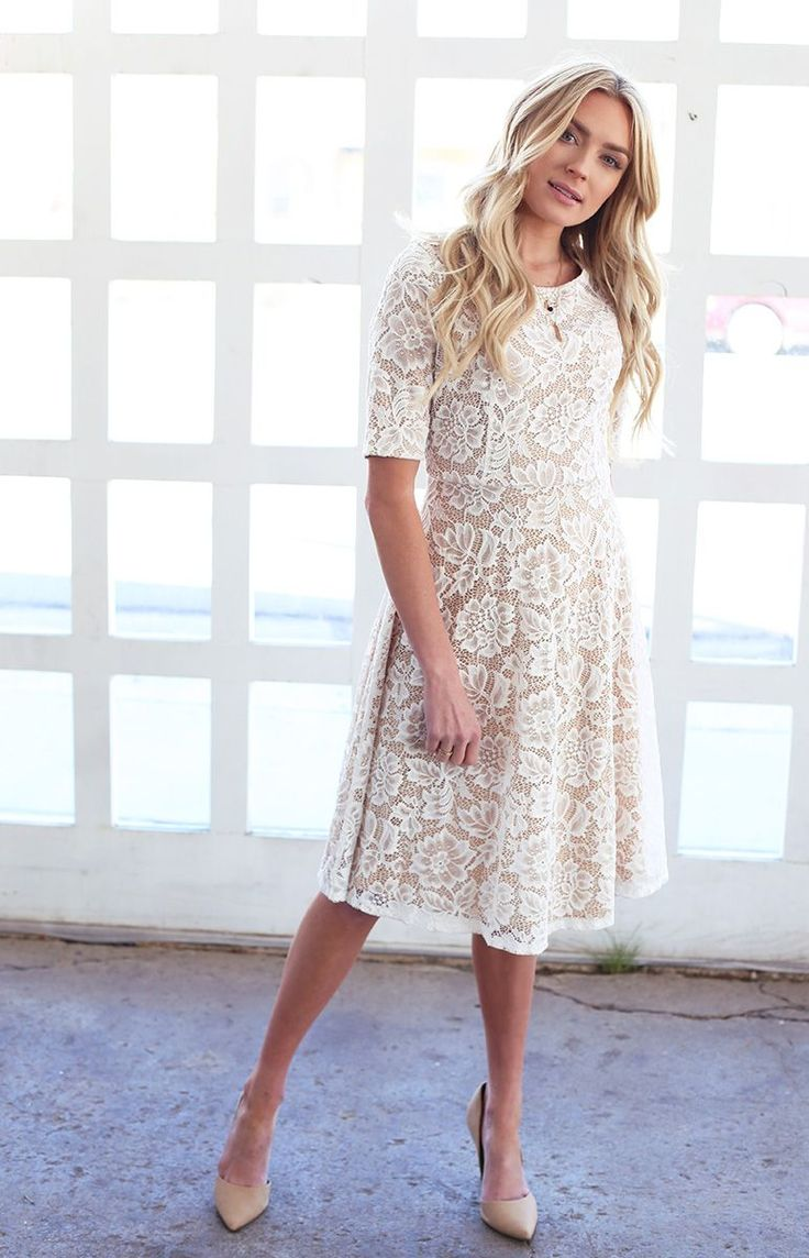 141 best images about Modest Fashion on Pinterest | Modest wedding dresses Summer dresses with ...