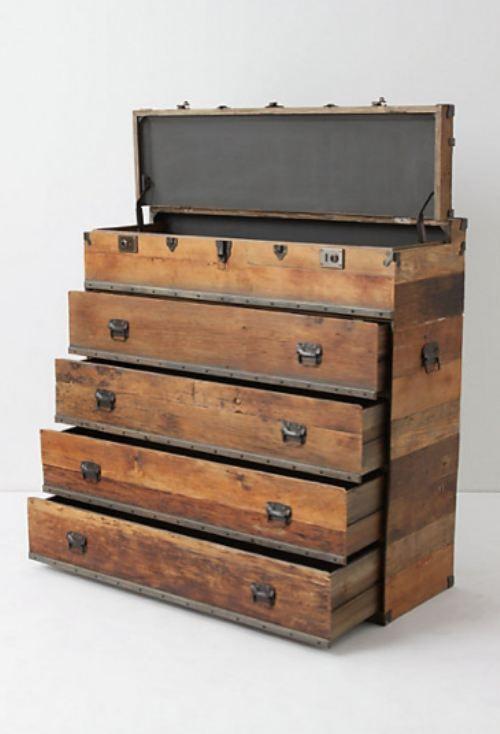 Tool Chest Dresser Makeover: 1000+ Images About Old Steamer Trunks On Pinterest