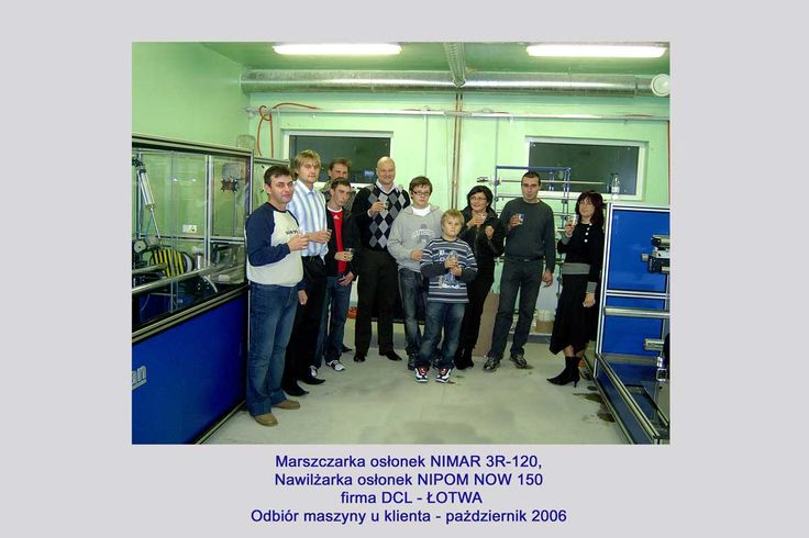 2006 - SIA DCL- Nimar 3R-120, Nipom NOW 150 - 2006  #nikelman #kadrycnc #prints #printer #casings #printingmachine#print #casing #machine #twosideprint #UV #iR #precisionprint#kadrycnc #artificial#sausage #casings #Packaging#shirred #sticks #or #ready #RTU#packages #to #the #cartons