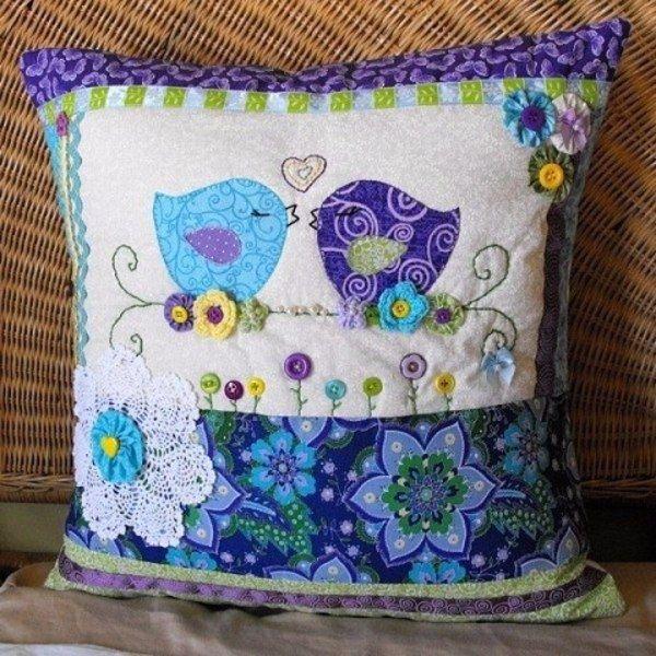 Декоративные подушки. Идеи для вдохновения