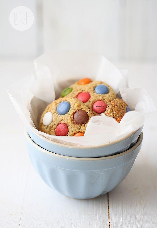 M & M Cookies (step by step tutorial)