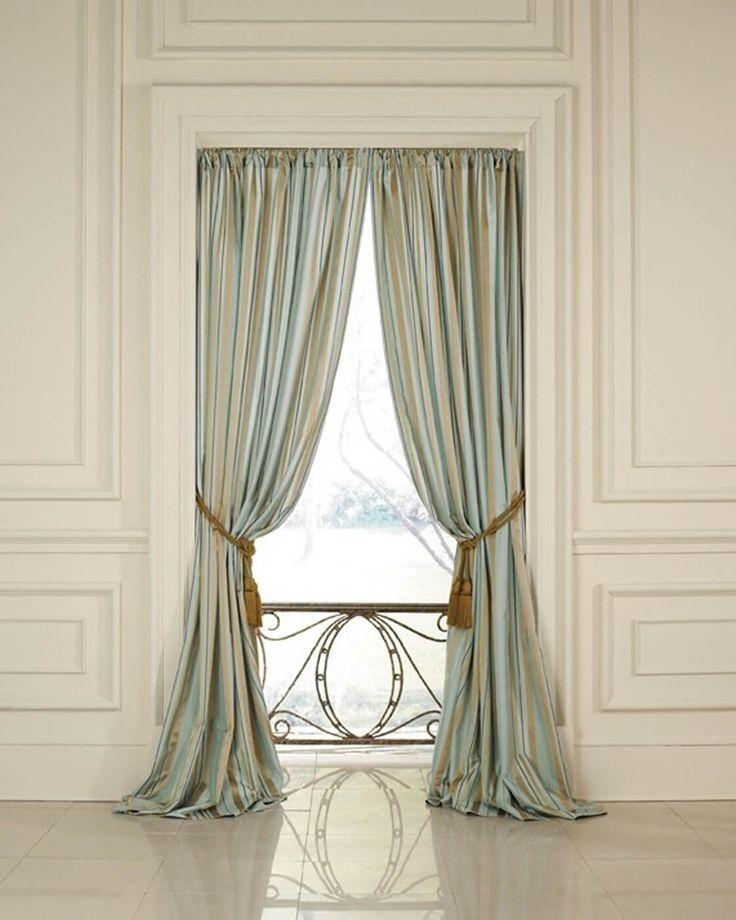Los Angeles Interior Designer Carole Carr Traditional Curtains