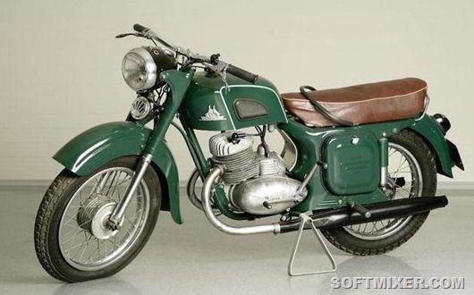 Мотоциклы родом из СССР ( 30 фото ) | Мотоциклы cafe ...