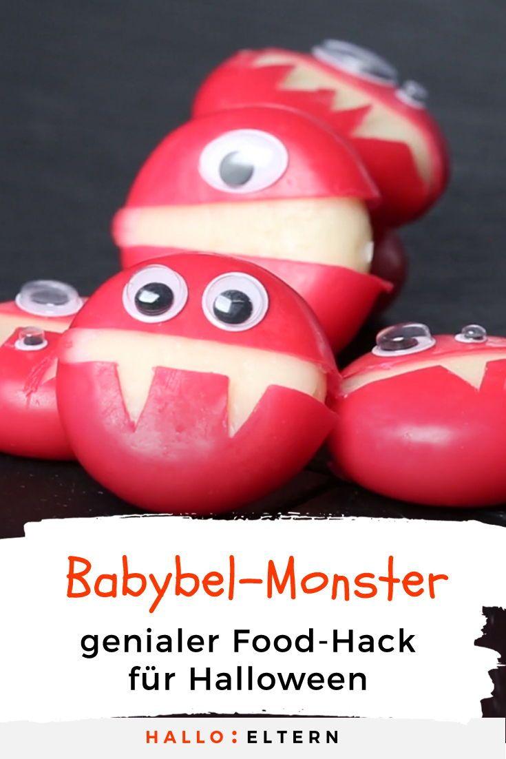 Babybel-Monster: Leckere Käse-Monster für deine Party