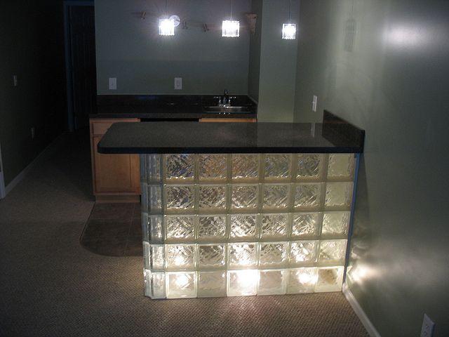 glass block bar | photo