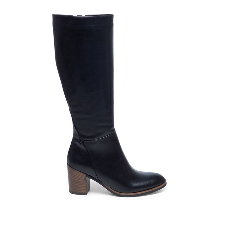 Zwarte laarzen | Dames  | MANFIELD