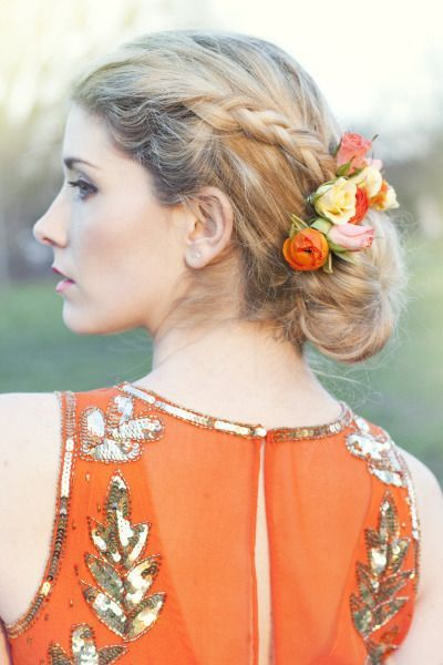 15 Braided Wedding Hairstyles that Will Inspire (with Tutorial) | http://www.deerpearlflowers.com/15-braided-wedding-hairstyles-that-will-inspire/