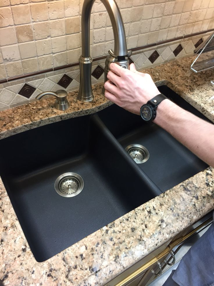 25 best ideas about composite sinks on pinterest - Granite composite bathroom sinks ...