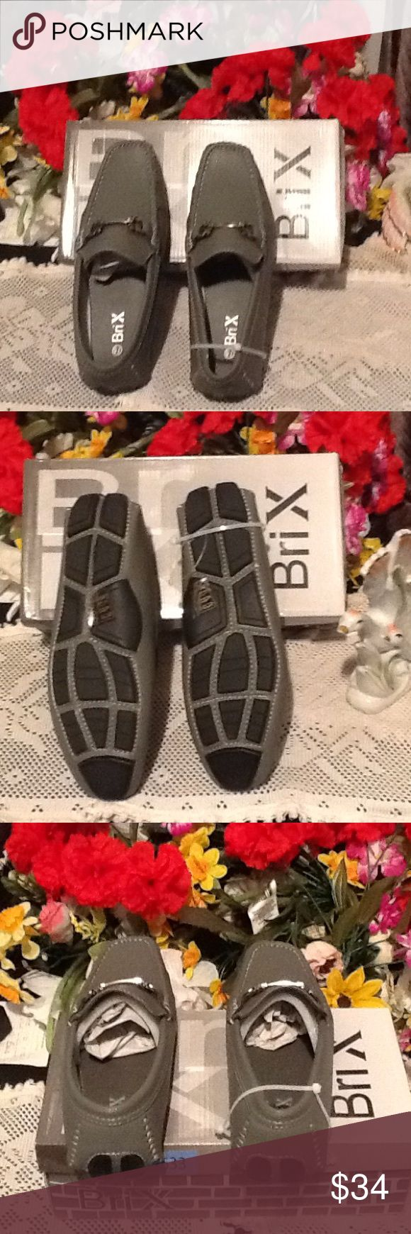 VERY ADORABLE BriX Men SHOE BRAND NWOT VERY ADORABLE BriX Men Shoe💝 👔👖👞💼💝 Brix Shoes Loafers & Slip-Ons