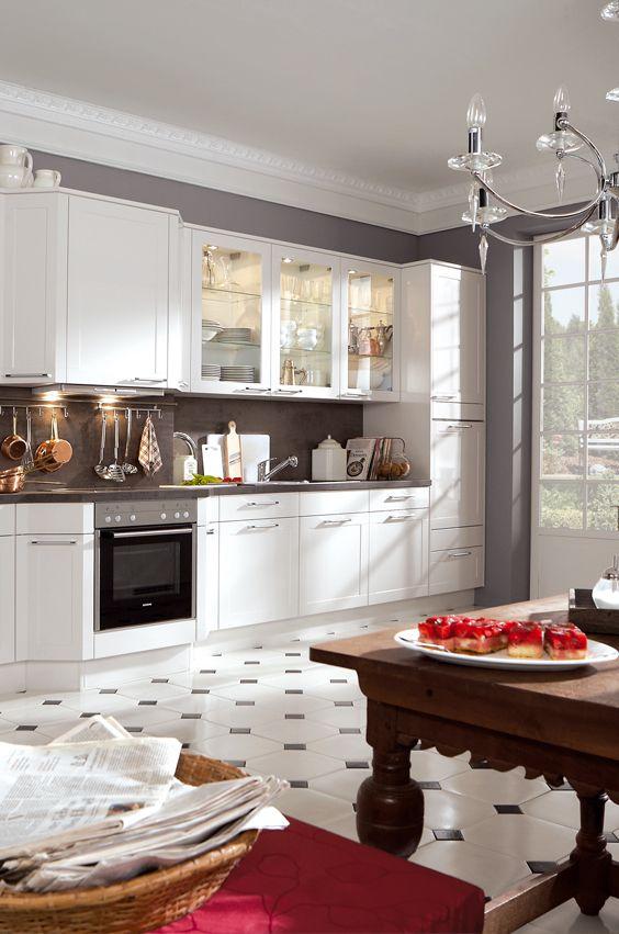 50 besten Romantik Küche Bilder auf Pinterest Romantik, Bosch - küche im landhausstil
