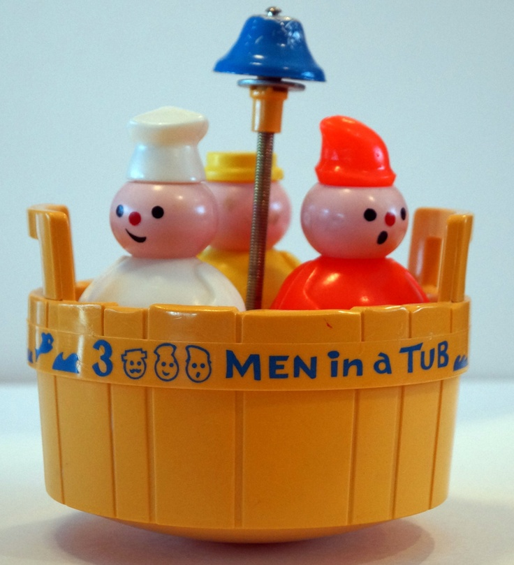 three men in a tub toy | Fisher Price Three Men in A Tub Vintage ...