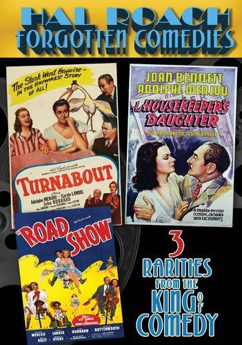 Hal Roach Forgotten Comedies: Turnabout/he Housekeeper's Daughter/Road Show [DVD]