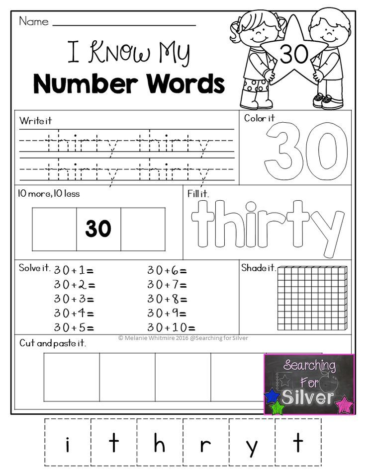 490 best Numbers images on Pinterest | Pre school, Pre-school and ...
