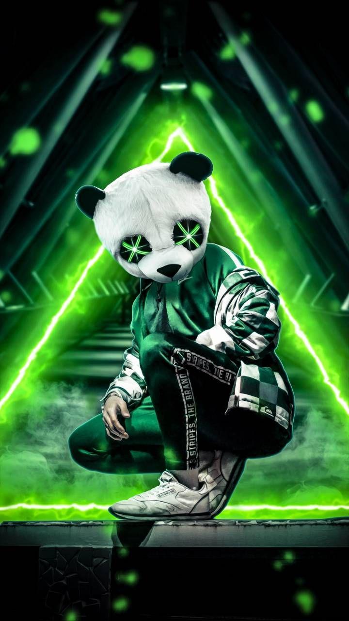 Download Panda Neon Green Wallpaper By Amazingwalls 6d Free On Zedge Now Browse Millions Of Popular Gree Panda Art Cute Panda Wallpaper Hipster Wallpaper