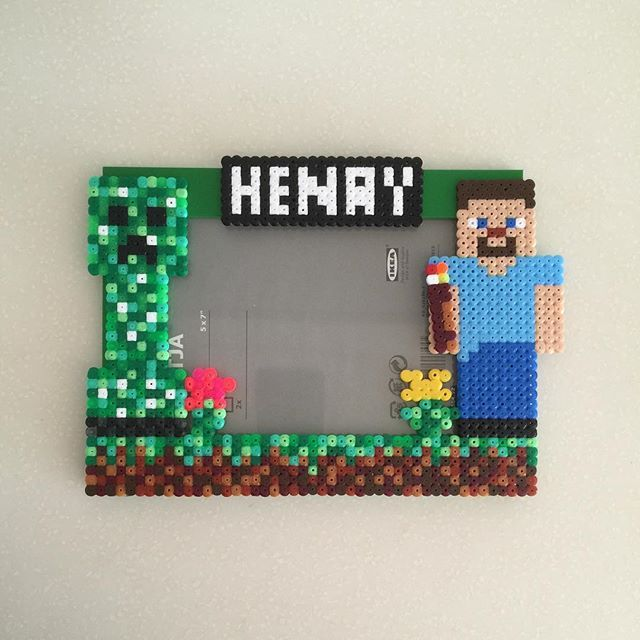 17 Best Images About Perler Beads Minecraft On Pinterest