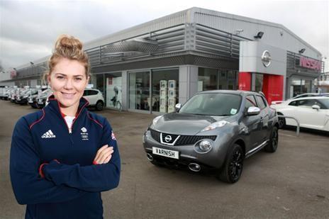 Olympic hopeful Jess Varnish gets a Nissan Juke