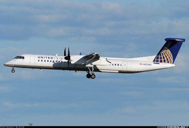United Express (Colgan Air) N323NG De Havilland Canada DHC-8-402Q Dash 8 aircraft picture