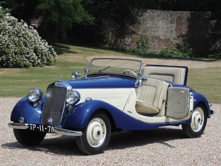 1935 Mercedes Benz 170 V Cabriolet A W136I ════════════════════════════ http://www.alittlemarket.com/boutique/gaby_feerie-132444.html ☞ Gαвy-Féerιe ѕυr ALιттleMαrĸeт https://www.etsy.com/shop/frenchjewelryvintage?ref=l2-shopheader-name ☞ FrenchJewelryVintage on Etsy http://gabyfeeriefr.tumblr.com/archive ☞ Bijoux / Jewelry sur Tumblr