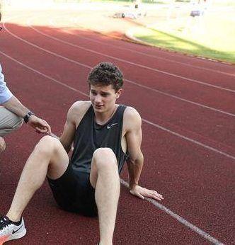 Tortu che sfortuna, distorsione alla caviglia nel dopo Golden  Gala | atleticanotizie