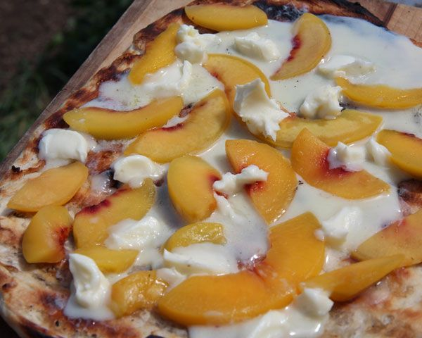 Top 25 ideas about Peach Pizza on Pinterest | Dessert ...